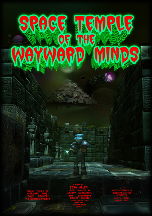 Space Temple Of The wayward Minds